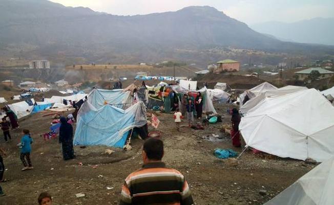 Kışı çadırlarda karşılayan ve ölümle burun buruna olan Türkiye'deki 2 bin mülteciden yardım çağrısı