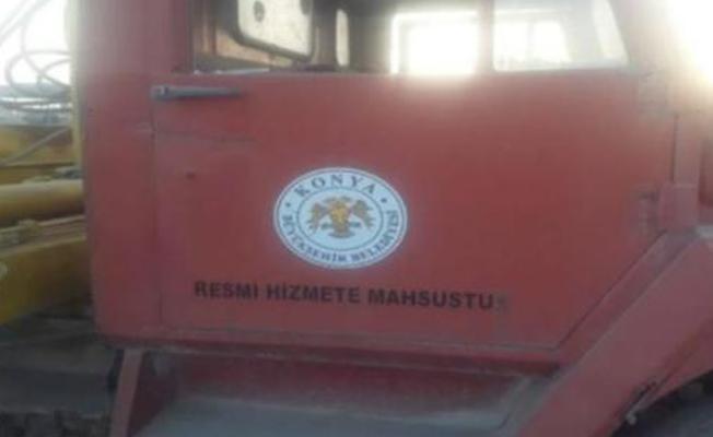 Konya Büyükşehir Belediyesi'nden Rakka'da görülen araca ilişkin açıklama