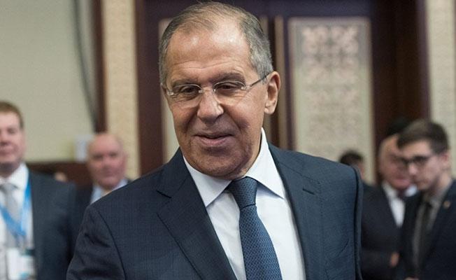 Lavrov: Kimseye İran destekli güçlerin Suriye'den çekileceğinin sözünü vermedik