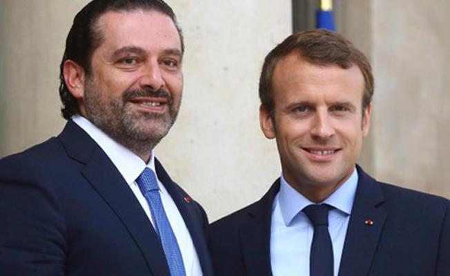 Lübnan Başbakanı Hariri Fransa'da: Lübnan'a döndükten sonra pozisyonumu açıklayacağım