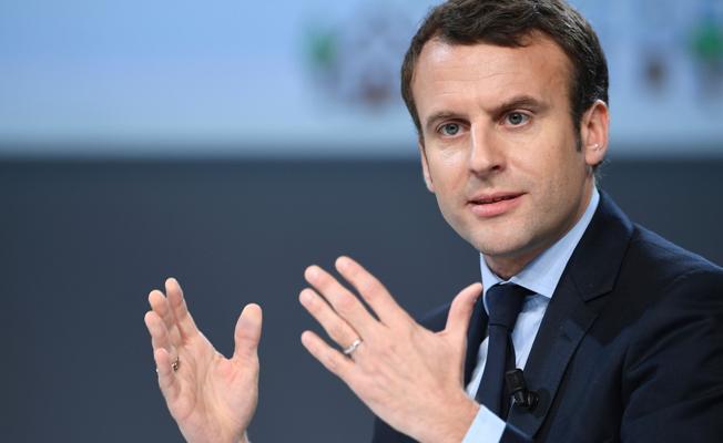 Macron: Suudi Arabistan'a atılan füzenin İran füzesi olduğu açık
