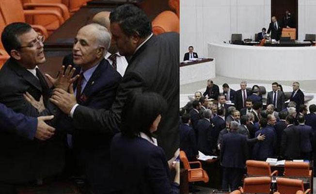 Meclis'te Zarrab kavgası: CHP'li ve AKP'li vekiller birbirine girdi