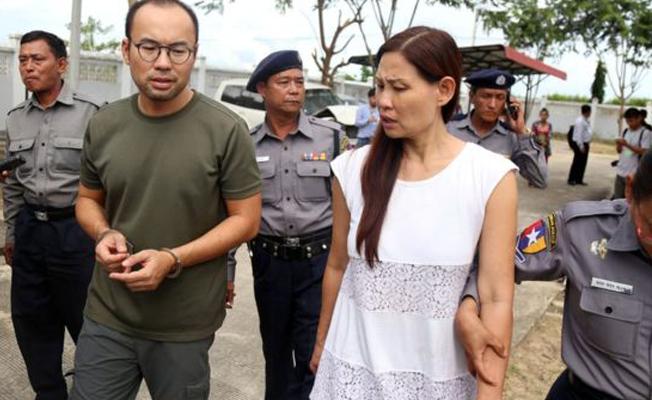 Myanmar'dan TRT World ekibine hapis cezası