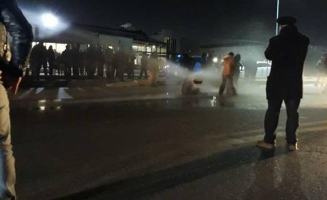 Nuriye Gülmen ve Semih Özakça eylemine polis müdahalesi