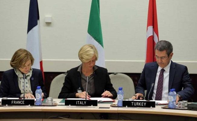 Türkiye, Fransa ve İtalya savunma anlaşması imzaladı
