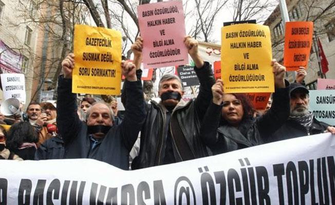 'Türkiye, ifade ve basın özgürlüğünün hızlı gerilediği ülke'