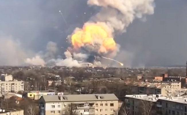 Ukrayna'da bir mahkemede patlama: Ölü ve yaralılar var