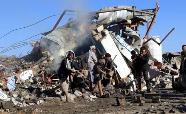 Yemen: Suudi hava saldırısında pazar yeri vuruldu, en az 26 kişi öldü