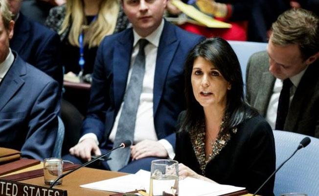 ABD: BM'deki Kudüs oylamasında bize karşı oy verenleri not alacağız