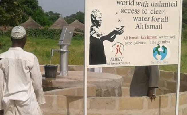 Afrika'da Ali İsmail Korkmaz adına su kuyusu açılıyor