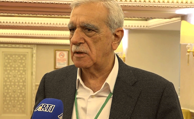 Ahmet Türk: 'Terör' diye tüm Kürtlerle mücadele ediliyor