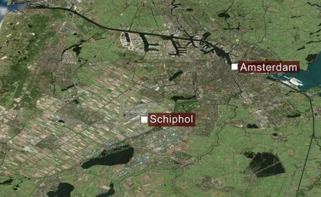 Amsterdam Schiphol Havalimanı'nda vurulan bıçaklı şüpheli gözaltında