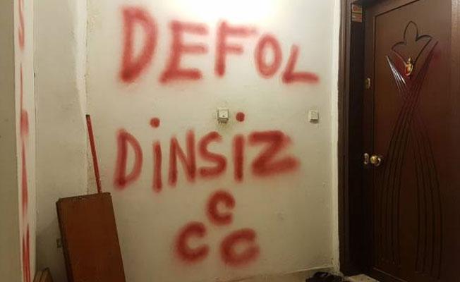 Malatya'dan sonra bu kez İstanbul'da bir Alevi ailenin evi işaretlendi