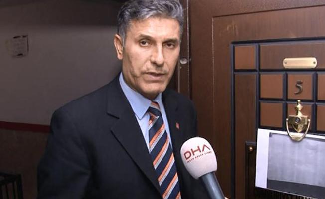 CHP ilçe binasının kapısına tehdit notu