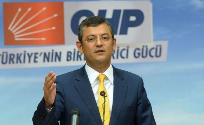 CHP'li Özel: FETÖ'den ihraç edilen ilk siyasetçi Süleyman Soylu'dur