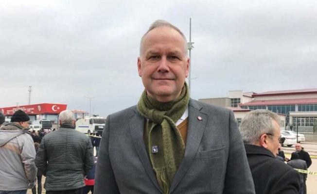 Demirtaş davasını izleyen İsveç Sol Parti lideri: Polis bizi tutuklamakla tehdit etti