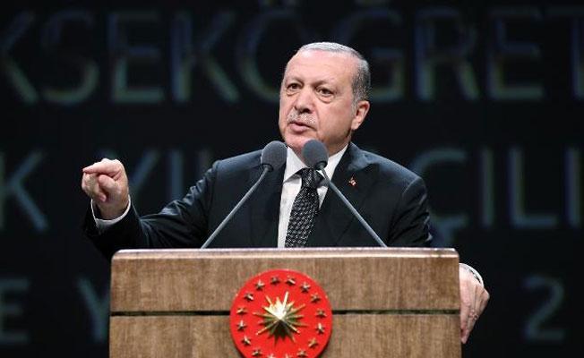Erdoğan: Türkiye'de olunca dünyayı ayağa kaldırıyorsunuz