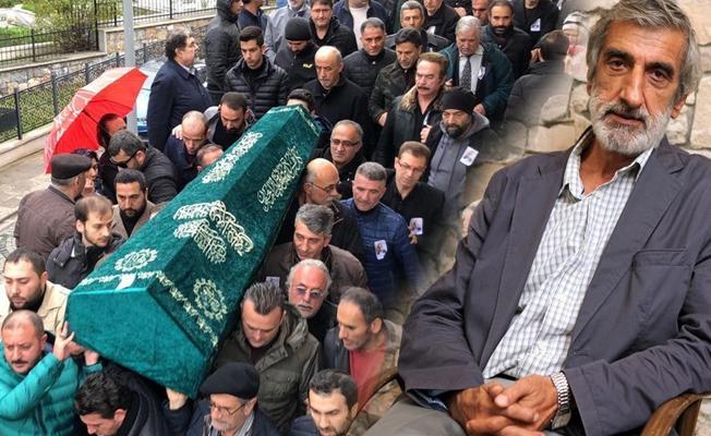 'Hangimiz Sevmedik'in söz yazarı Ali Tekintüre son yolculuğuna uğurlandı