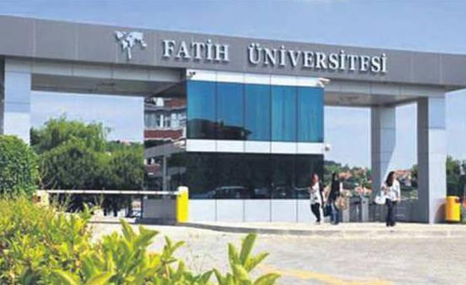 Kapatılan Fatih Üniversitesi'ne operasyon