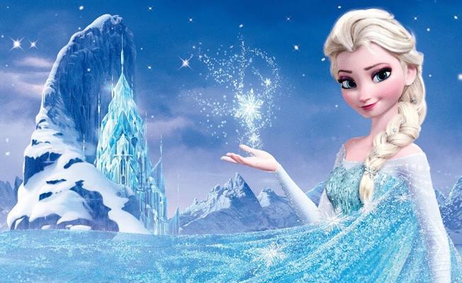 Karlar Prensesi Elsa için pornografik içerik uyarısı
