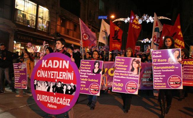Kasım'da erkekler tarafından 27 kadın öldürüldü, 29 çocuk istismara uğradı