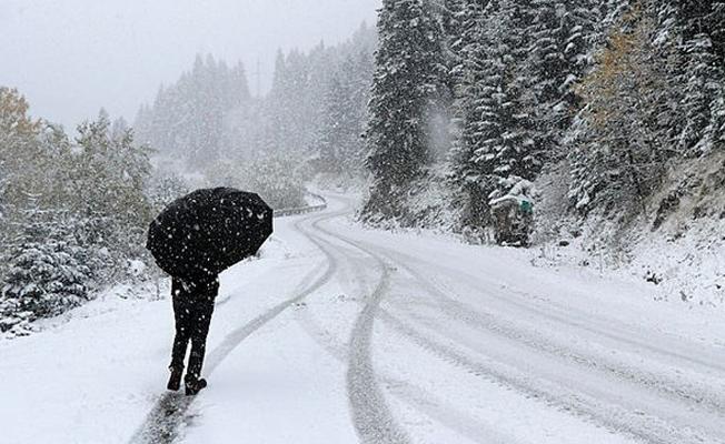 Meteoroloji'den 9 ile kar yağışı uyarısı