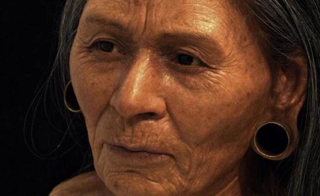 Peru'daki 1200 yıllık soylu kadının yüzü canlandırıldı