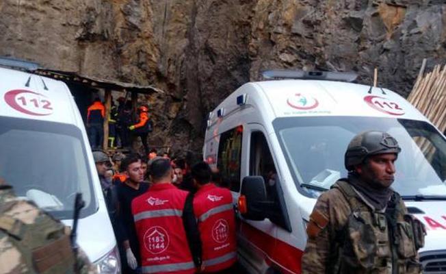 Şırnak'ta 3 işçinin cenazesine ulaşıldı