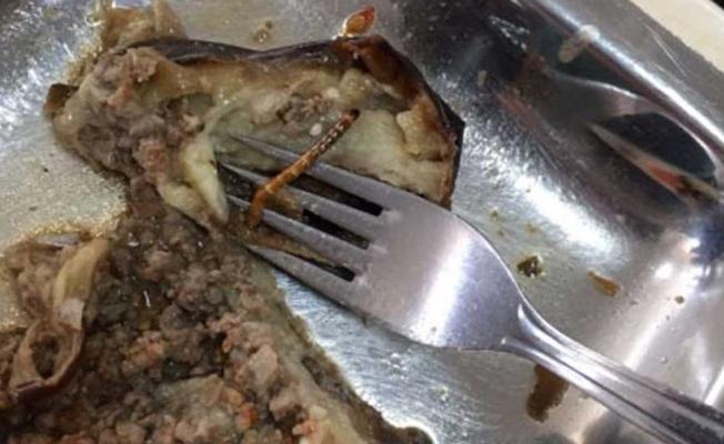 YTÜ'de öğrencilerin yemeklerinden böcek çıktı