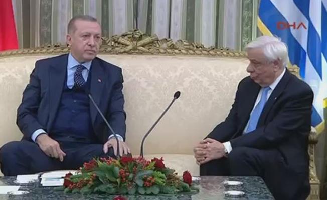 Erdoğan'ın Yunanistan ziyaretinde Lozan tartışması