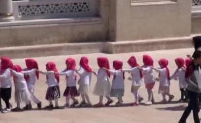 4-6 yaş grubu çocuklara 'Kur'an Kursu Eğitim Programı'