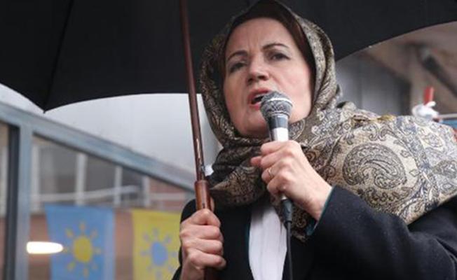 Akşener'den Erdoğan'a: Doymadı tek adamlıkla bu ülkeyi yönetmek istiyor