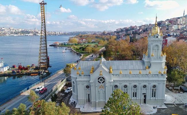 Balat'taki 'Demir Kilise' yedi yıl aradan sonra açıldı