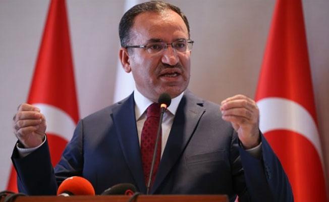 Bozdağ: Türkiye'nin bir ülkeye verdiği herhangi bir garanti yoktur