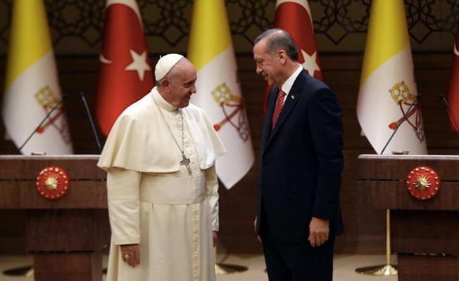 Cumhurbaşkanı Erdoğan Vatikan'a gidiyor
