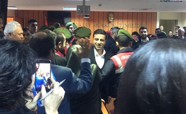 Demirtaş'ın savunması: Mahkemenin ara karar vermesini talep etti