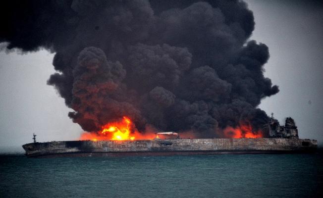 Doğu Çin Denizi'nde dev petrol sızıntısı