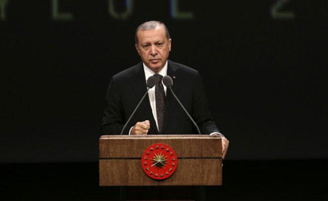 Erdoğan: Belli bir fikrin savunucusu olanlara kapıyı aç, değilse kapıyı kapat bu mu özgürlük?