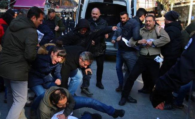 'İşimizi geri istiyoruz' eyleminde 6 gözaltı