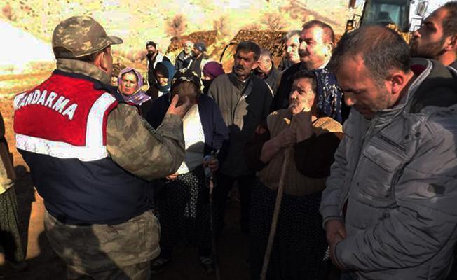 Malatya'da maden ocağı protestosu