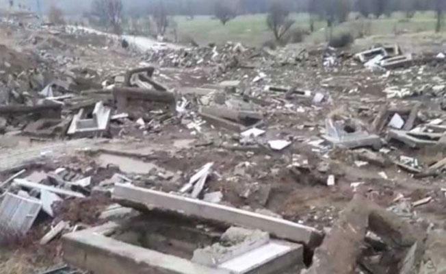 Savcılık, Garzan Mezarlığı'yla ilgili ailelerle görüştü