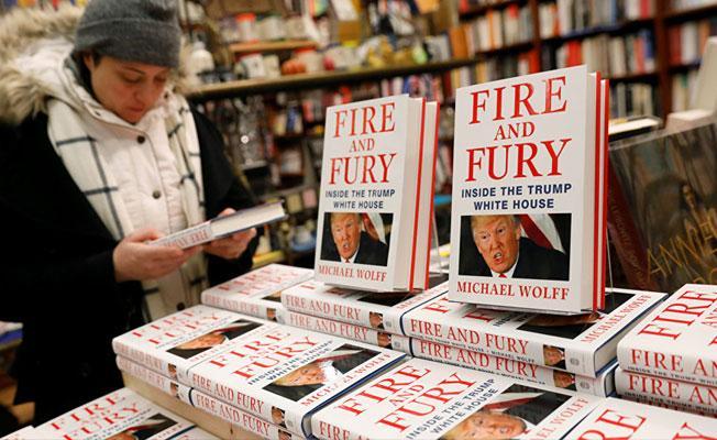 Trump kitabı piyasaya çıktığı gün tükendi