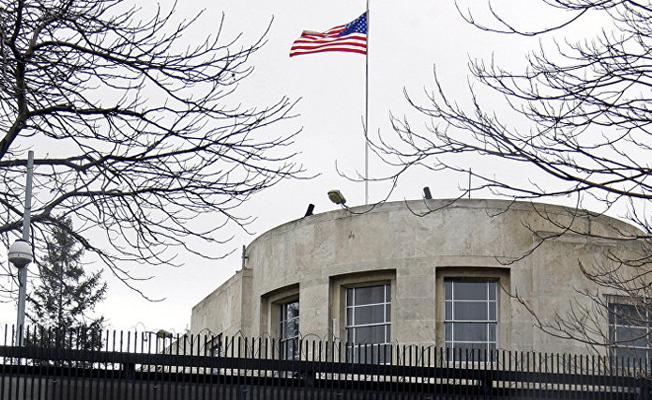 ABD Büyükelçiliği önündeki caddenin adı 'Zeytin Dalı' olarak değişiyor