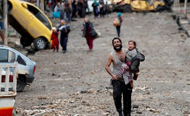 Enkaz olarak kalan Musul: Alacaklarını alıp, halkı sefalete terk ettiler