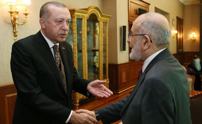 Erdoğan'dan Karamollaoğlu'na: Birlikte hareket edelim