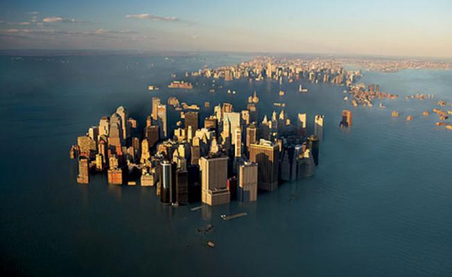 İstanbul da dahil birçok şehir tamamen ya da kısmen sular altında kalacak