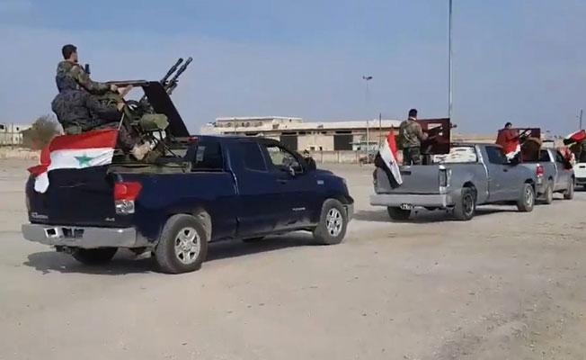 Reuters: Suriye güçleri Afrin'e girmeye başladı