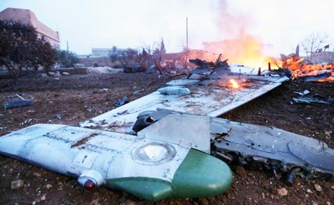 Rus basını: 'İdlib'de uçağımızı Türkiye yanlısı militanlar düşürdü'