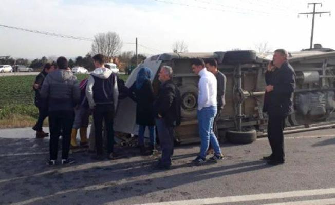 Öğrenci servisi kaza yaptı: 1 ölü, 12 yaralı ile ilgili görsel sonucu