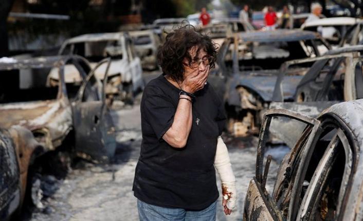 Yangından kurtulanlar: Yer yanıyordu, kaçarken ayakkabılarımız eridi